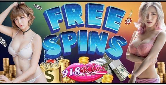 918Kiss Free Spin