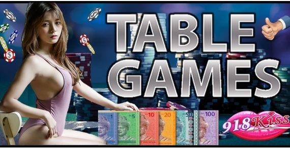 918Kiss Table Games Tips