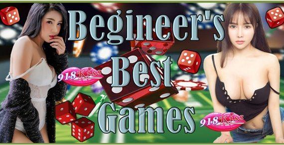 Best Games for 918Kiss Casino Beginners