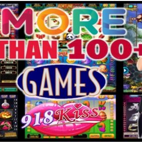 918Kiss Over 100 Slot Games