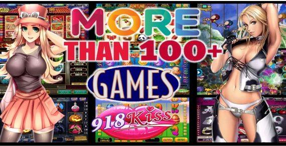 918Kiss Over 100 Slot Games