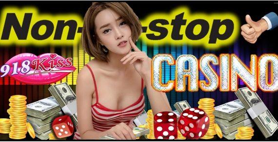 Nonstop Malaysia Online 918Kiss Casino