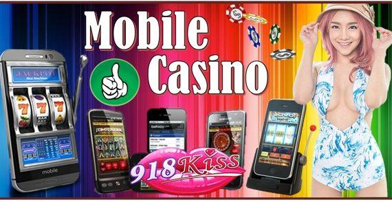 Playing 918Kiss Mobile Casino